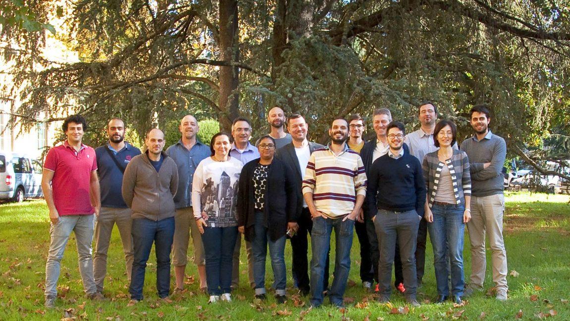 Η ομάδα του GAIA σε συνάντηση στη Φλωρεντία, 27-28 Οκτωβρίου