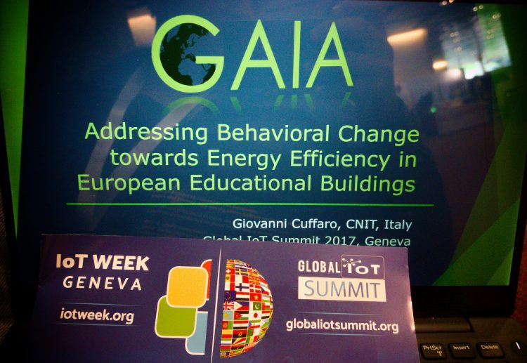GAIA @ Global IoT Summit 2017