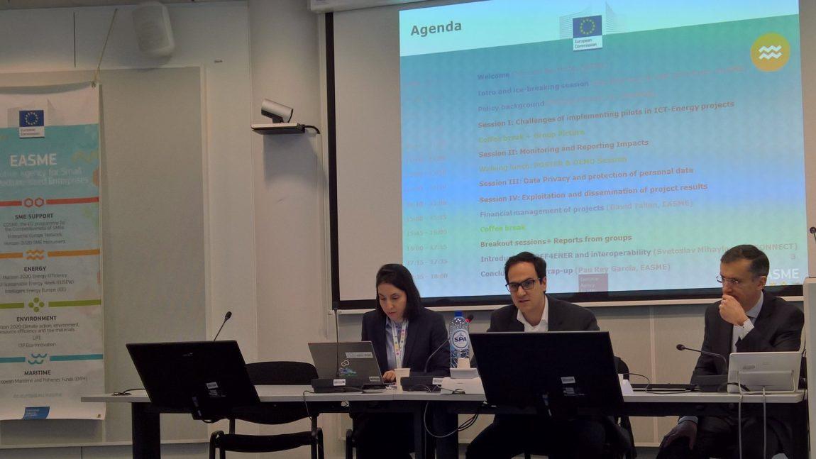 EASME Meeting in Brussels