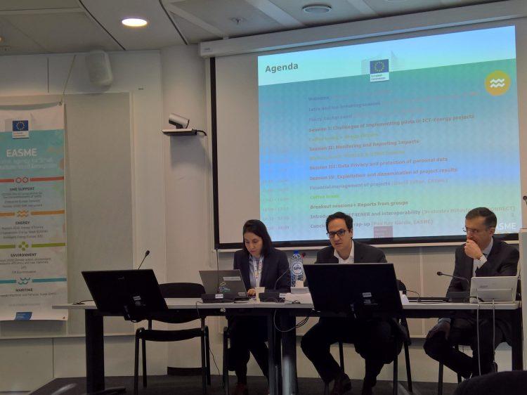 Συνάντηση του EASME στις Βρυξέλλες