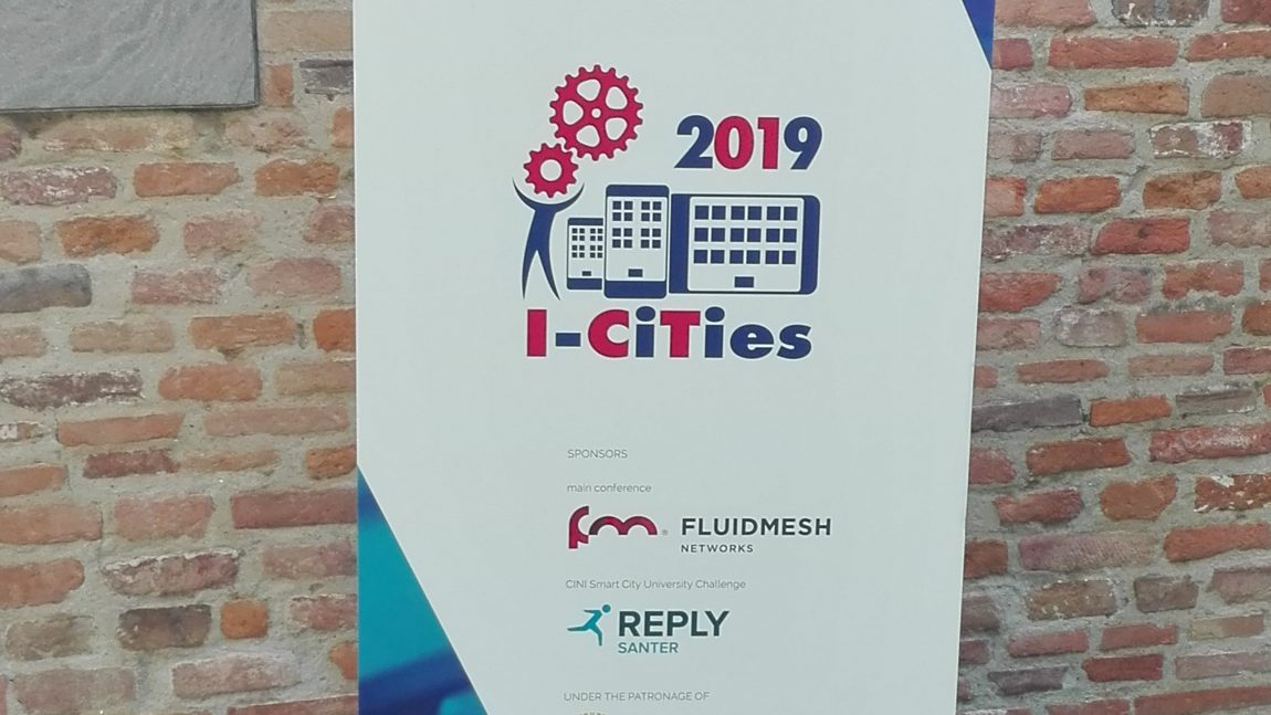 GAIA presentation at I-Cities 2019 in Pisa
