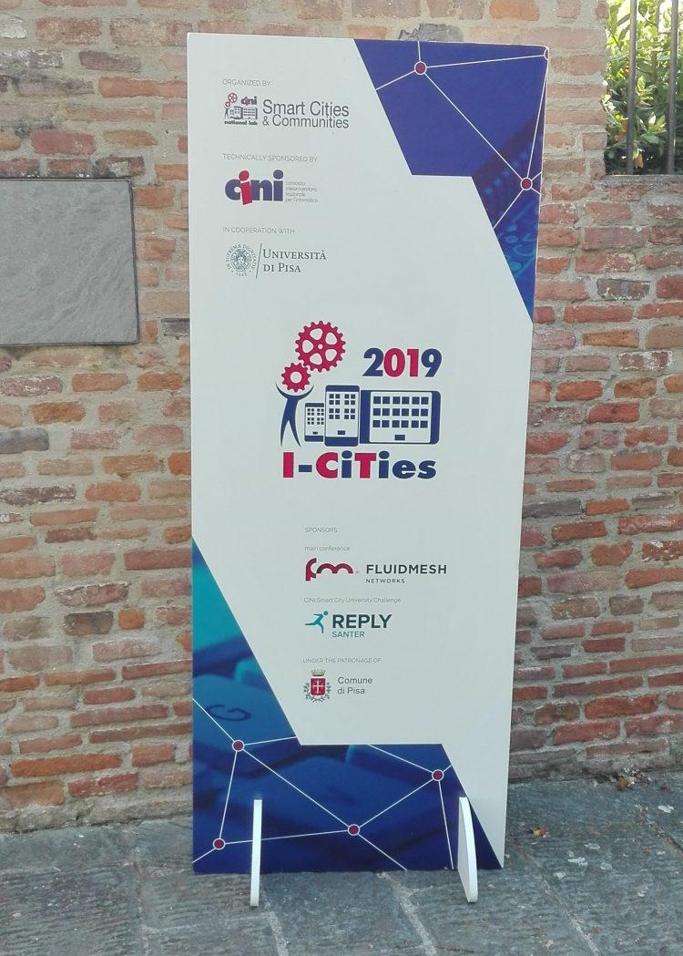 GAIA presentation at I-Cities 2019 in Pisa